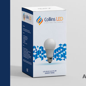 Box design (package design) full-wrap Collins