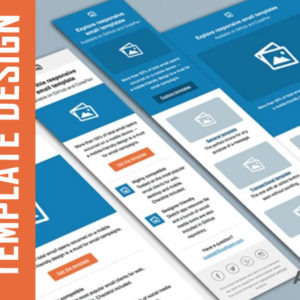 An Email Template Design is a reusable HTML file that can be used to build email campaigns. No business is complete without a well-designed email campaign.