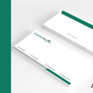 Increase open rates with a branded Envelope Design. Adds credibility by displaying the logo, business name, address and web address in your envelope.